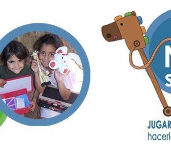 Lanzamiento de la campaña niños solidarios de Mensajeros de la Paz