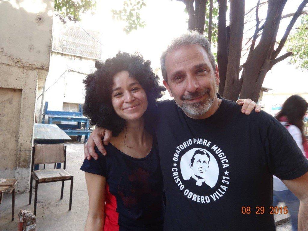 Magdalena Zurita, una de las precursoras del voluntariado de Mensajeros en la Villa 31.