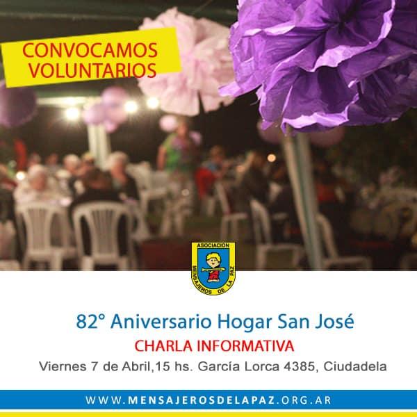Convocatoria voluntarios